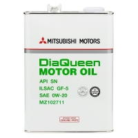 Моторное масло MITSUBISHI DiaQueen 0W20 SN GF-5, 4л
